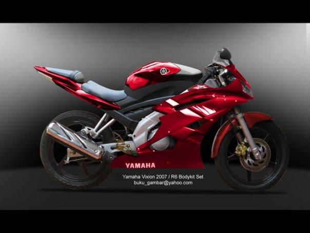 Modifikasi 2010 Yamaha Vixion