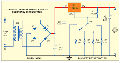 VARIABLE POWER SUPPLY USING REGULATED IC | Jugaad-'We Are Solution'