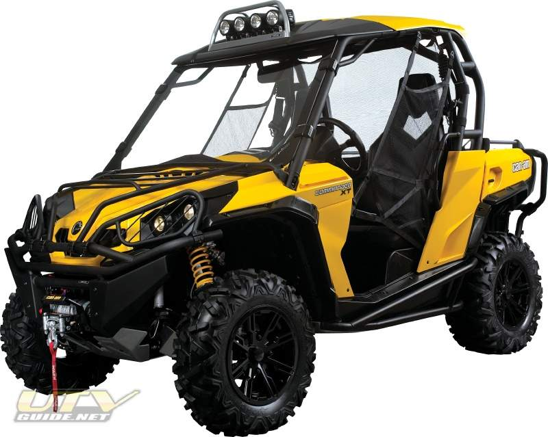 tailor made accessories for the can am commander side by side utv guide. Black Bedroom Furniture Sets. Home Design Ideas