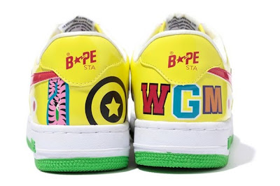 separation shoes 3a226 90a4a A Bathing Ape unveils a more detailed look into a new series of its classic  Bapesta silhouette, part of a larger Shark Collection for Fall 2010.