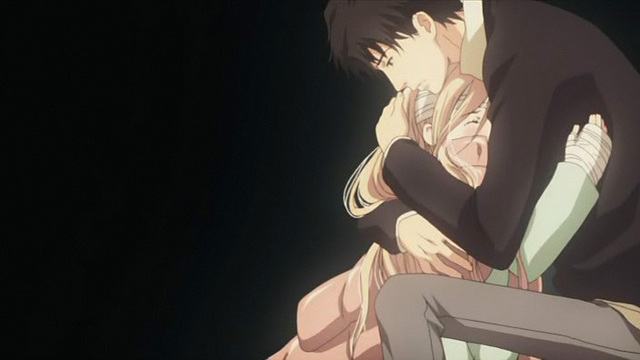 Hwfd Sad Anime Couple Hugging Image Hd Wallapapers Free Download