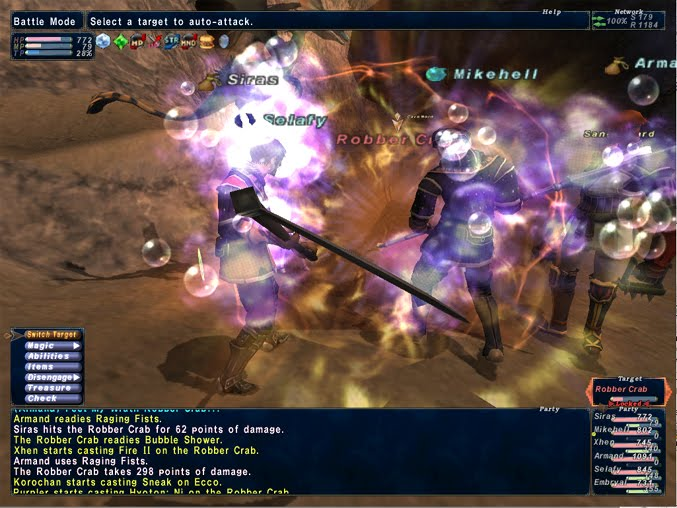 That's a Terrible Idea: Analysis of FFXI Combat