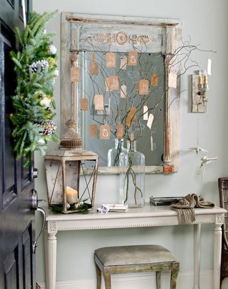 Новогодний декор своими руками - идеи для винтажных интерьеров МОЙ МИЛЫЙ ДОМ - идеи рукоделия, вязание, декорирование интерьеров