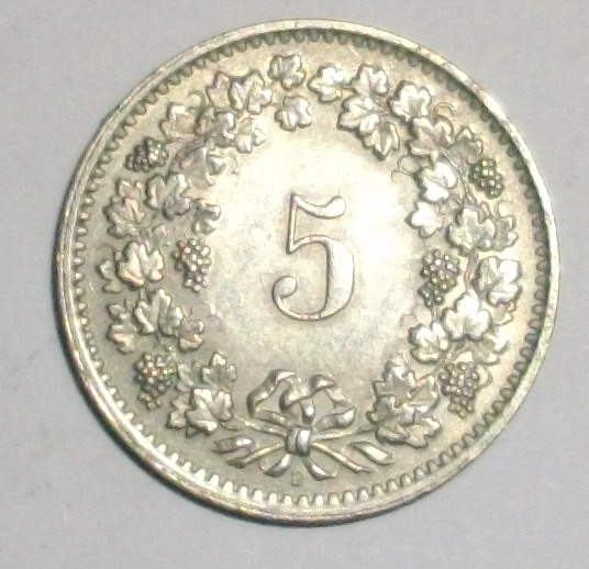 Indonesia Collectors Antique Coin Confoederatio Helvetica