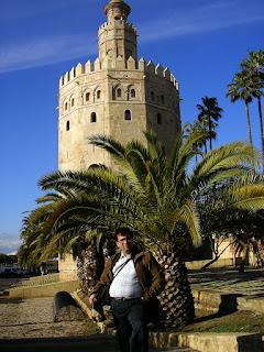 Obiective turistice Andaluzia: Torre del Oro Sevilla