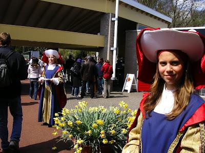 Imagini Olanda: intrarea la Keukenhof