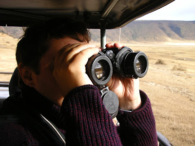 Imagini Tanzania: cu binoclu in safari