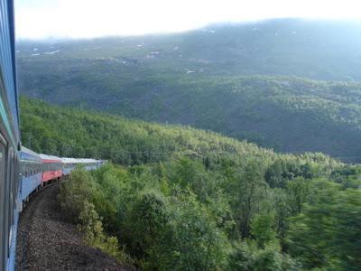 Tren norvegian spre Narvik