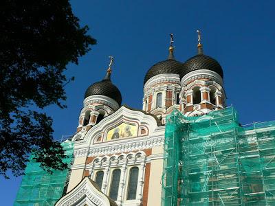 Imagini Estonia: catedrala ortodoxa Talinn