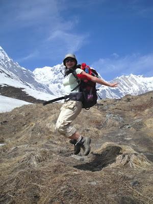 Obiective turistice Nepal: pe munte spre Annapurna
