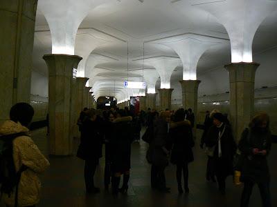 Obiective turistice Moscova: metro Kropotinskaya