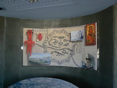 harta Nicosia - orasul impartit in doua
