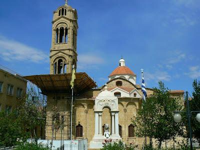 Imagini Nicosia: biserica ortodoxa in Cipru grec