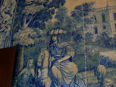 Obiective turistice Sintra: azulejos Palacio Nacional