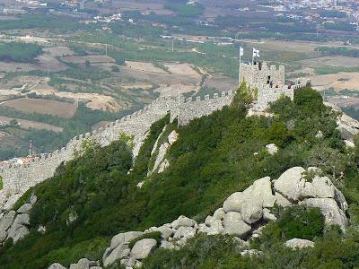 Obiective turistice Sintra: Castelul Maurilor
