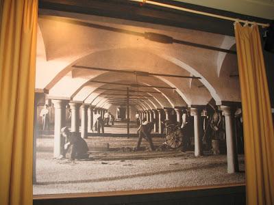 Obiective turistice Plzen: imagini de epoca din fabrica de bere
