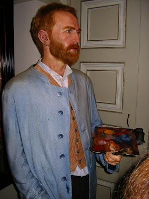 Obiective turistice Olanda: Van Gogh in Madame Tussaud Amsterdam