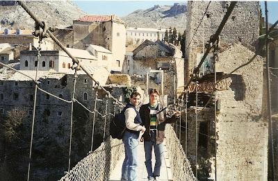 Obiective turistice Mostar: podul vechi peste Neretva
