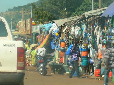 Imagini Bamako: piata traditionala