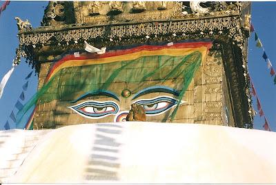 Zbori cu Fly Dubai la Kathmandu: Swayanbunath