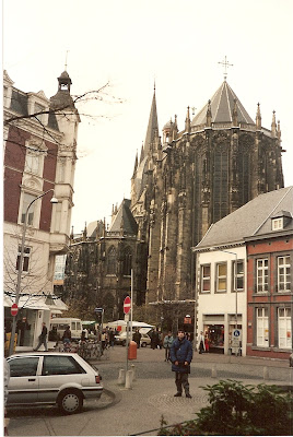 Obiective turistice Germania: Dom Aachen, RFG