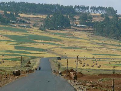 Imagini Etiopia: prin zona amhara
