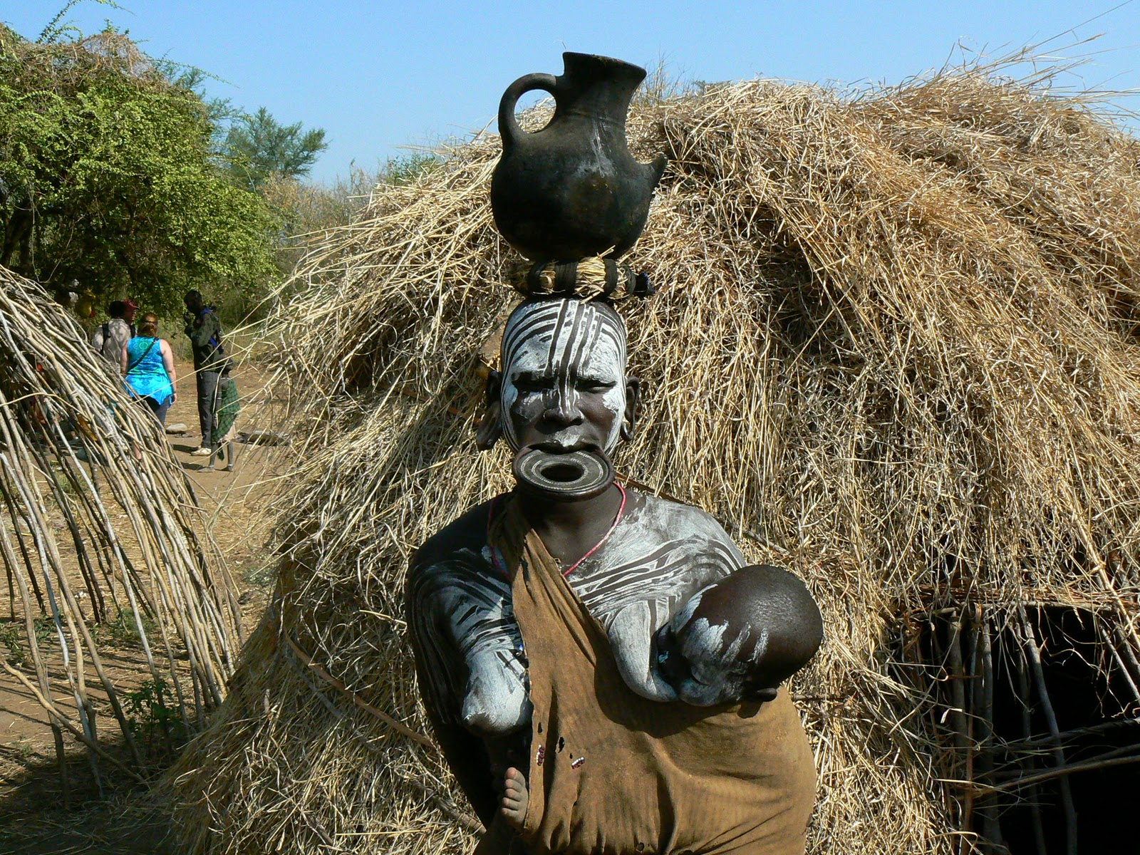Intalnirea femeii etiopiene