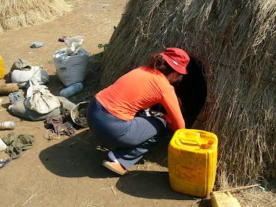 Obiective turistice Etiopia: coliba mursi
