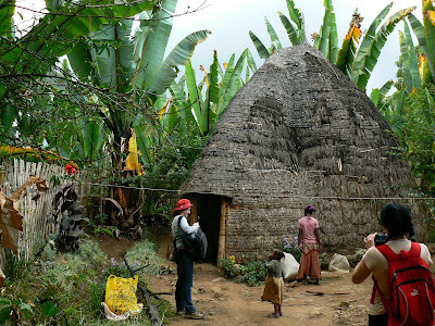 Obiective turistice Etiopia: sat Dorze