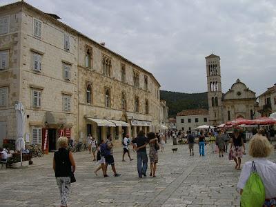 Imagini Croatia: centru Hvar