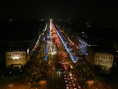 Obiective turistice Franta: de pe Arcul de Triumf, Paris