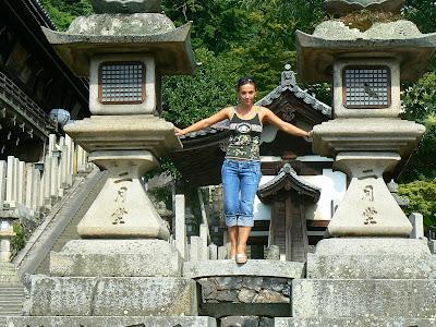 Imagini Japonia: templul Todai-Ji, Nara, Andreea Raducan