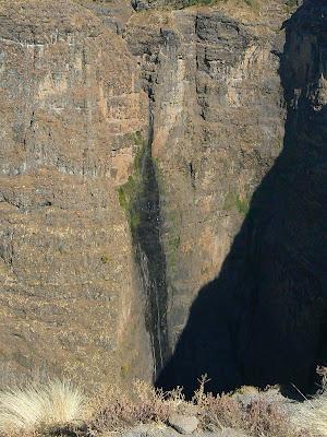 Imagini Etiopia: cascada in Muntii Simien