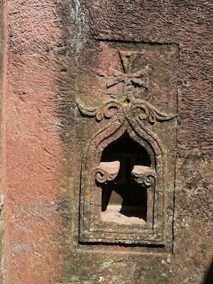 Obiective turistice Etiopia: cruce templiera la Lalibela