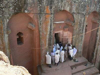 Imagini Etiopia: Bet Gabriel Rufael Lalibela