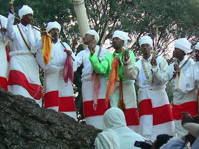 Obiective turistice Etiopia: Craciun la Lalibela
