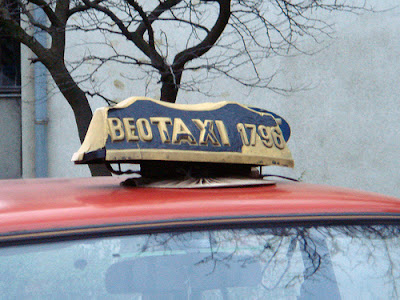 Imagini Serbia: Beotaxi in Belgrad