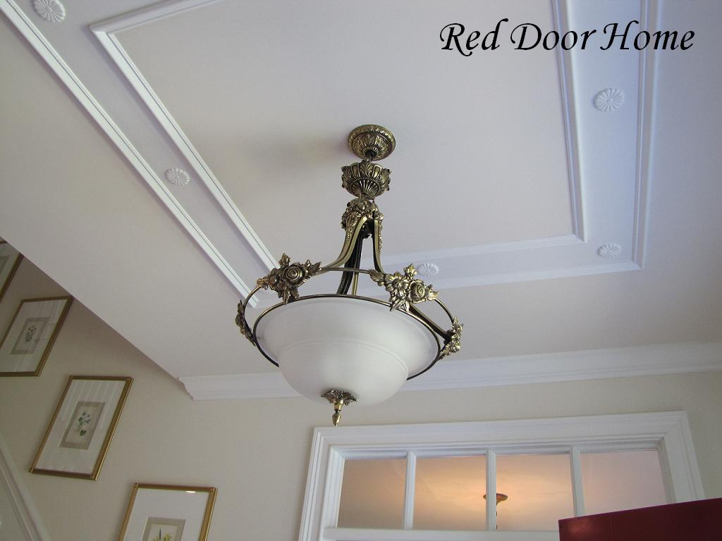 Red Door Home Two Simple Ideas To Add Character To Your Ceilings
