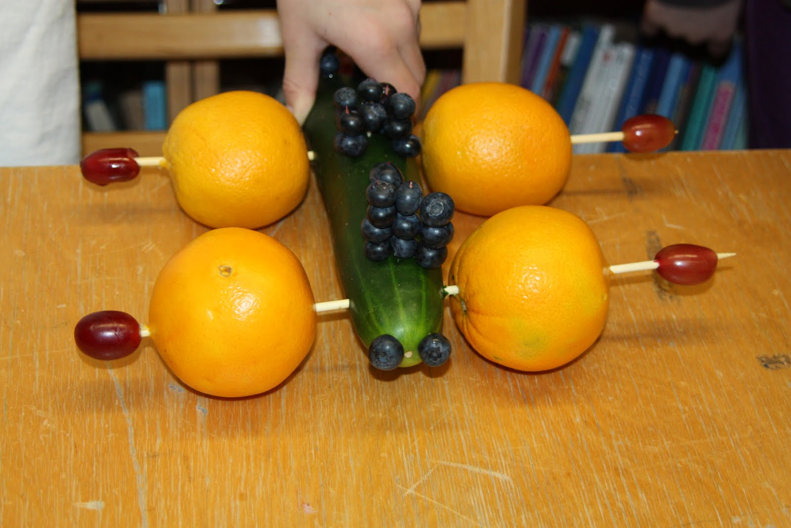 Third Grade News Fruit And Veggie Derby
