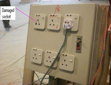 Electrical Installation Wiring Pictures Temporary