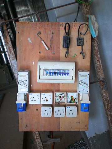 temporary electrical panel  | electricalinstall…