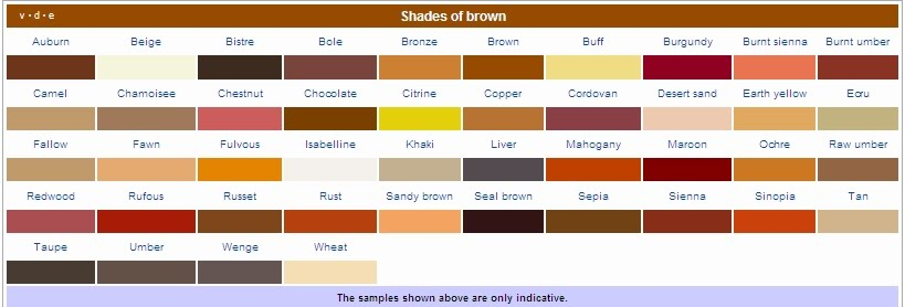 Brown Br And The Likes If You Wear A Hijab Might Want To Consider Animal Prints For That Below Is List Of Colors Can Mix Match