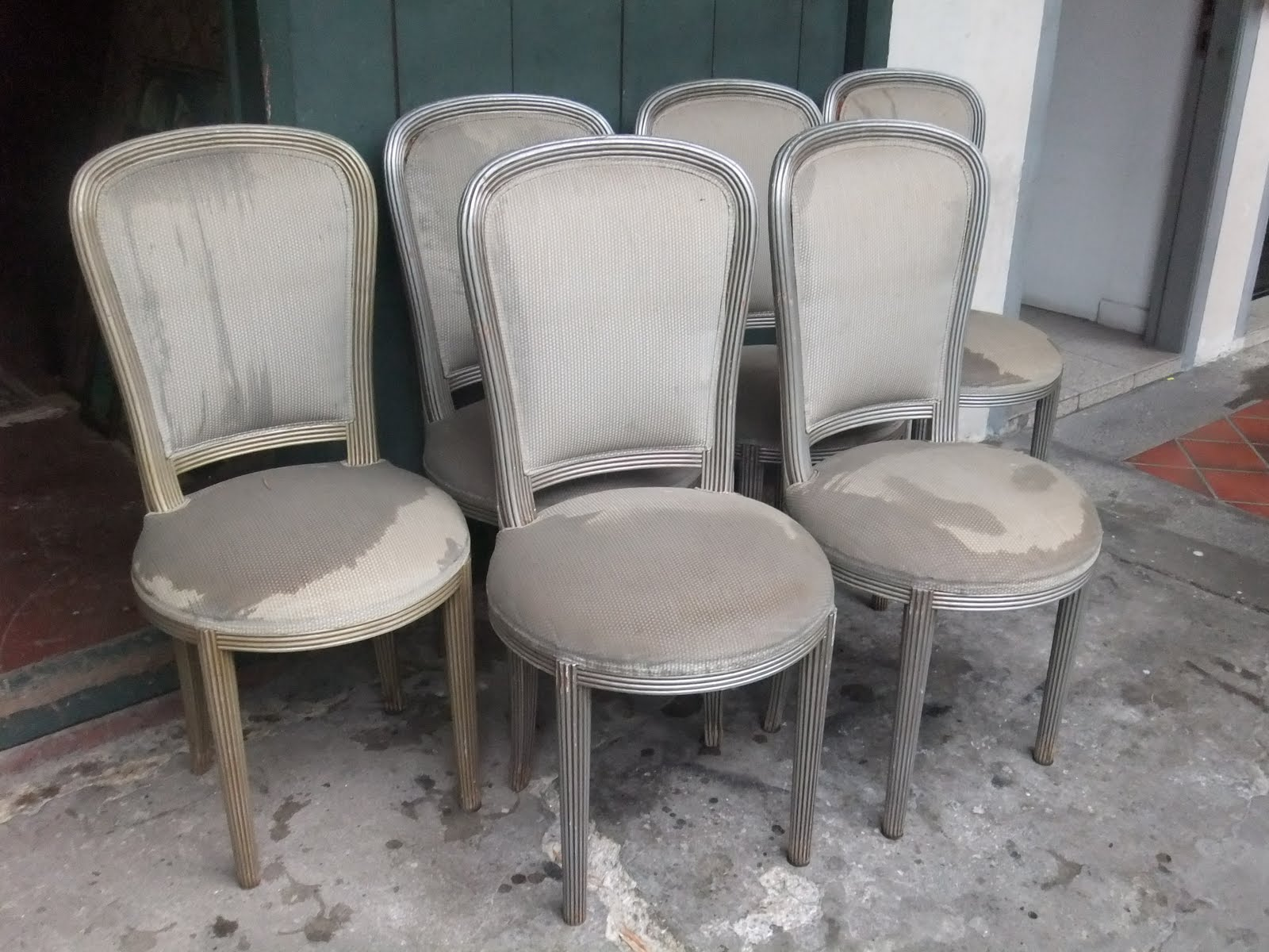 Silver Dining Chairs Furniture Finds The Emergence Of Similar Styles Of