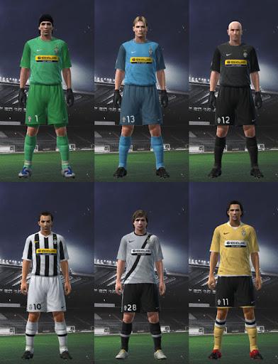 d3eb18cc1 Juventus 09 10 Kit Set by Nicklaaas - PESEdit Blog