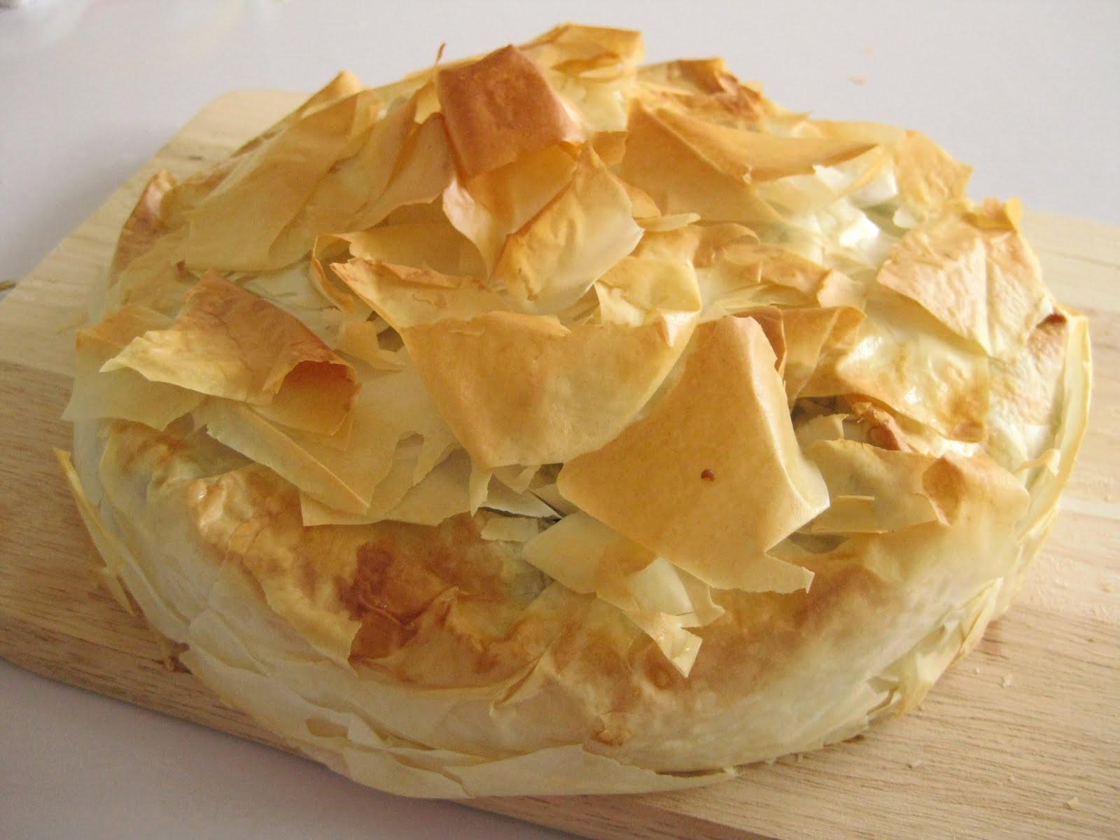 舒實坊 Potato And Leek Phyllo Pie