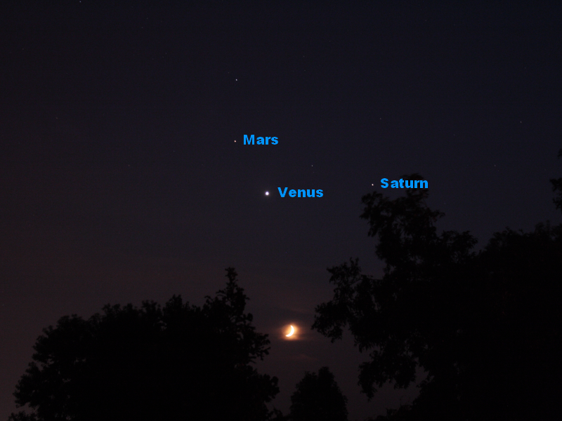 moon mars conjunction what time - photo #34