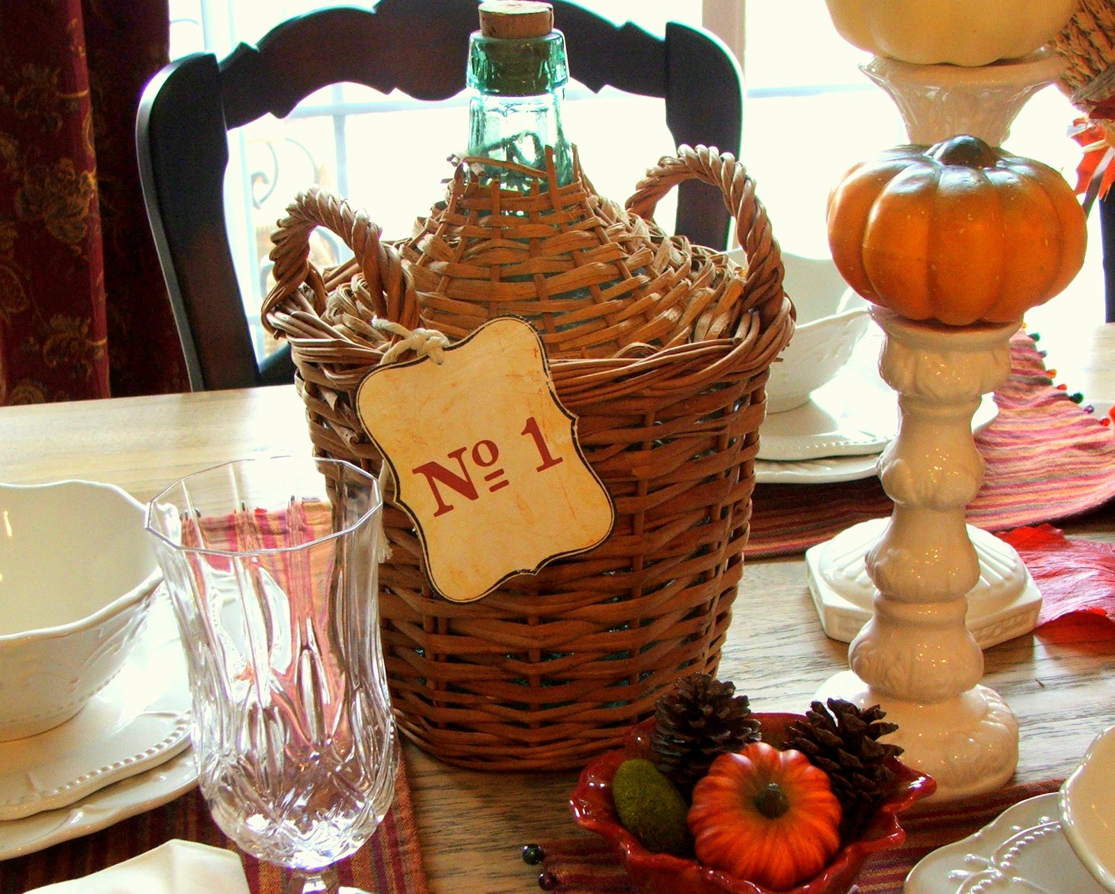 The Table Is All Set For Thanksgiving And I Can Not Wait Until It