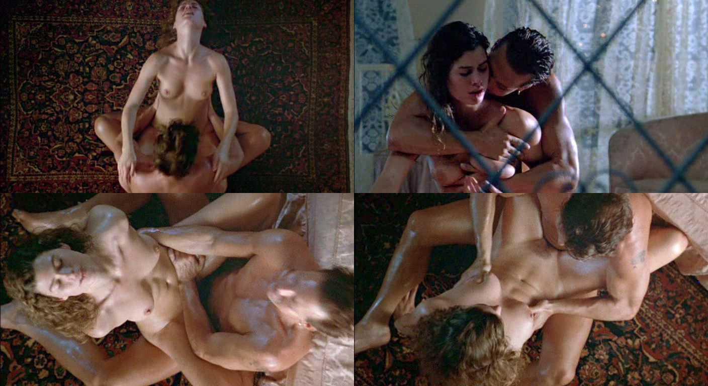 Девку откровенные сцены из художественной фильмов порнушку