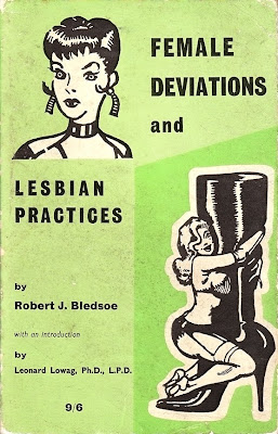 Book cover, woman with heavy makeup, woman in lingerie embracing giant high-heeled boot