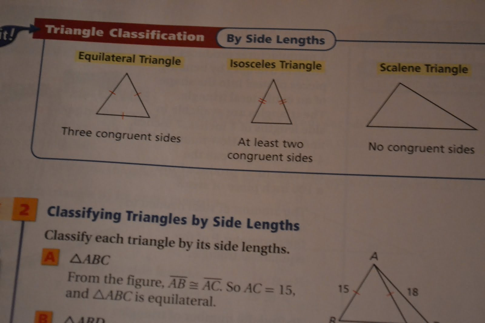 Isosceles Triangle In Real Life